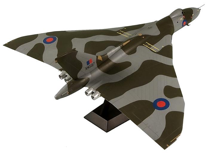 イギリス空軍 戦略爆撃機 バルカン B.2プラモデル(ピットロード1/144 塗装済み組み立てモデル (SNP-×)No.SNP-011)商品画像_3