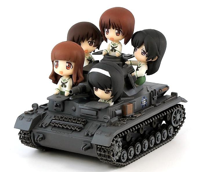 4号戦車 D型 エンディングVer.完成品(ピットロードガールズ&パンツァーNo.PD011)商品画像_1