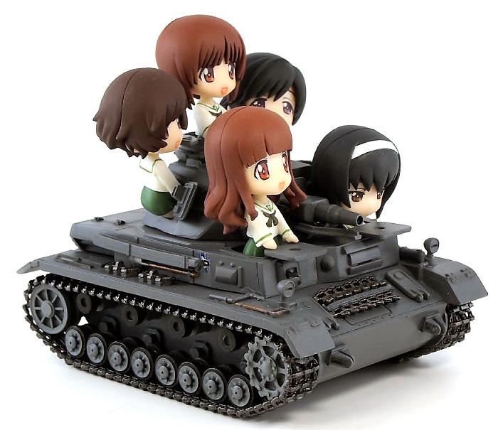 4号戦車 D型 エンディングVer.完成品(ピットロードガールズ&パンツァーNo.PD011)商品画像_2
