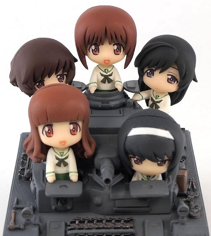 4号戦車 D型 エンディングVer.完成品(ピットロードガールズ&パンツァーNo.PD011)商品画像_3