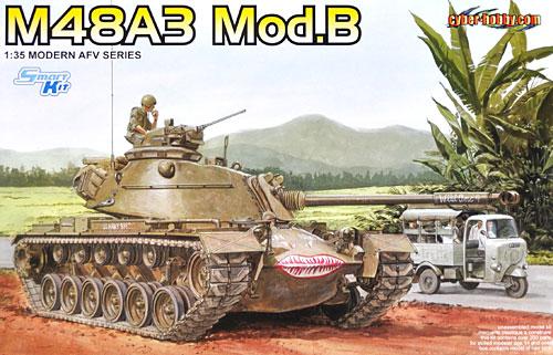 アメリカ M48A3 Mod.B パットン 主力戦車プラモデル(サイバーホビー1/35 Modern AFV SeriesNo.3544)商品画像
