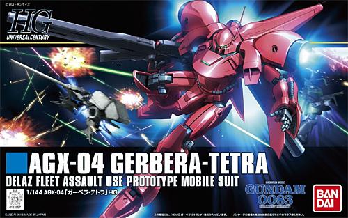 AGX-04 ガーベラ・テトラプラモデル(バンダイHGUC (ハイグレードユニバーサルセンチュリー)No.159)商品画像