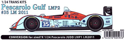 ぺスカローロ Gulf #35 LMP2 ル・マン 2011年トランスキット(スタジオ27ツーリングカー/GTカー トランスキットNo.TK2457)商品画像