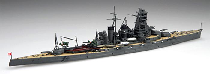 日本海軍 高速戦艦 金剛 昭和16年 (1941年)プラモデル(フジミ1/700 特シリーズNo.083)商品画像_2