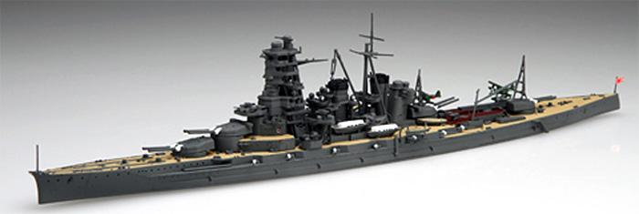 日本海軍 高速戦艦 金剛 昭和16年 (1941年)プラモデル(フジミ1/700 特シリーズNo.083)商品画像_3