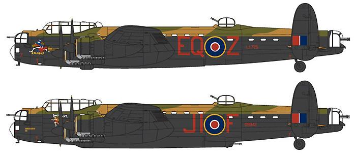 アブロ ランカスター B.2プラモデル(エアフィックス1/72 ミリタリーエアクラフトNo.A08001)商品画像_2