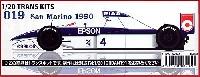 スタジオ27F-1 トランスキットティレル 019 サンマリノGP 1990