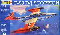 レベル1/72 飛行機F-89D/J スコーピオン