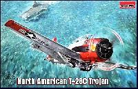 ローデン1/48 エアクラフト プラモデルノースアメリカン T-28C トロージャン 複座レシプロ艦上練習機