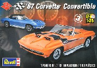 レベル/モノグラムカーモデル'67 コルベット コンバーチブル