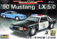 レベル/モノグラムカーモデル'90 マスタング LX 5.0 (2'n1)