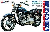 タミヤ1/6 オートバイシリーズハーレーダビッドソン FXE 1200 スーパーグライド