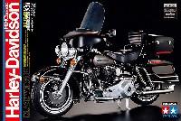 タミヤ1/6 オートバイシリーズハーレーダビッドソン FLH クラシック ブラックバージョン