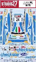 スタジオ27ラリーカー オリジナルデカールシトロエン DS3 #24 イタリア WRC 2012