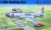 ホビーボス1/48 エアクラフト プラモデルF-80A シューティングスター