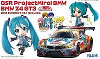 フジミRacing ミク シリーズGSR Project Mirai BMW BMW Z4 GT3 (2012 SuperGT Rd.1 Okayama)