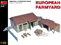 ミニアート1/35 ビルディング&アクセサリー シリーズヨーロッパの農場