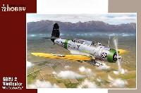 スペシャルホビー1/72 エアクラフト プラモデルヴォート SB2U-2 ビンジケーター 艦上爆撃機