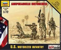 ズベズダART OF TACTIC HOT WARアメリカ軍 現用歩兵セット