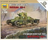 ズベズダART OF TACTICマチルダ Mk.1 イギリス歩兵戦車