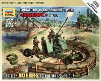 ズベズダART OF TACTICイギリス ボフォース Mk.1/2 40mm対空機関砲