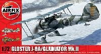 エアフィックス1/72 ミリタリーエアクラフトグロスター J-8A / グロスター グラディエーター Mk.2