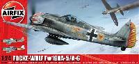 エアフィックス1/24 ミリタリーエアクラフトフォッケウルフ Fw190A-5/A-6
