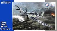 スペシャルホビー1/48 エアクラフト プラモデルフェアリー ファイアフライ Mk.4/5 艦上戦闘機 朝鮮戦争