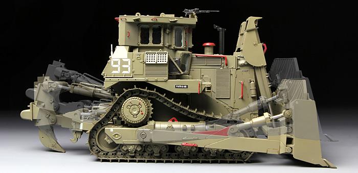 D9R 装甲ブルドーザープラモデル(MENG-MODEL1/35 ステゴザウルス シリーズNo.SS-002)商品画像_3