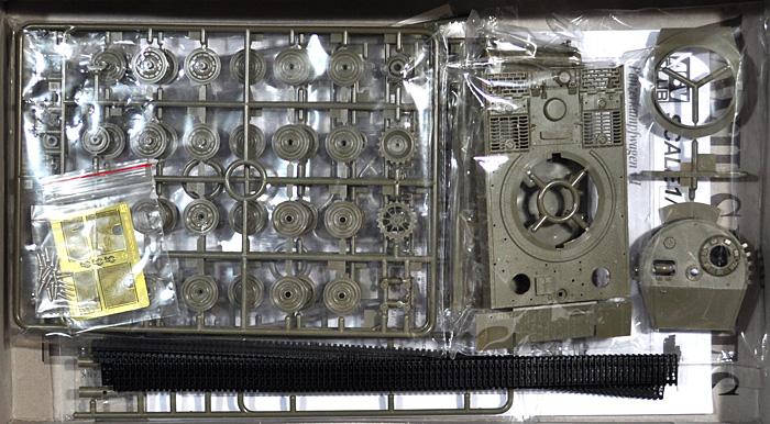 タイガー 1 重戦車 後期型プラモデル(AFV CLUB1/48 AFVシリーズNo.AF48001)商品画像_1