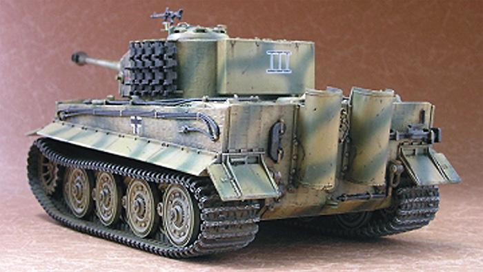 タイガー 1 重戦車 後期型プラモデル(AFV CLUB1/48 AFVシリーズNo.AF48001)商品画像_2
