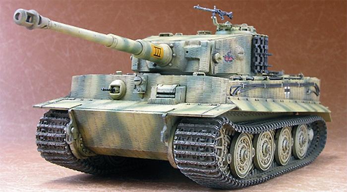 タイガー 1 重戦車 後期型プラモデル(AFV CLUB1/48 AFVシリーズNo.AF48001)商品画像_3