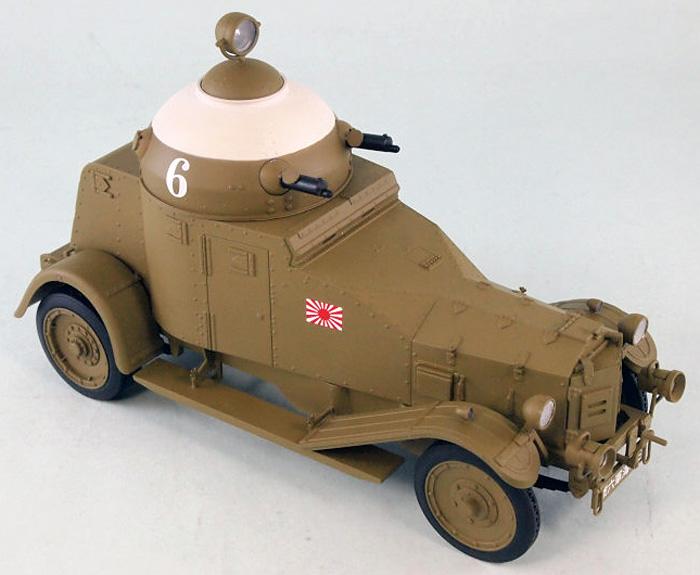 日本海軍 陸戦隊 ヴィッカース・クロスレイ M25 四輪装甲車完成品(ピットロード塗装済完成品モデルNo.G-027M)商品画像_1