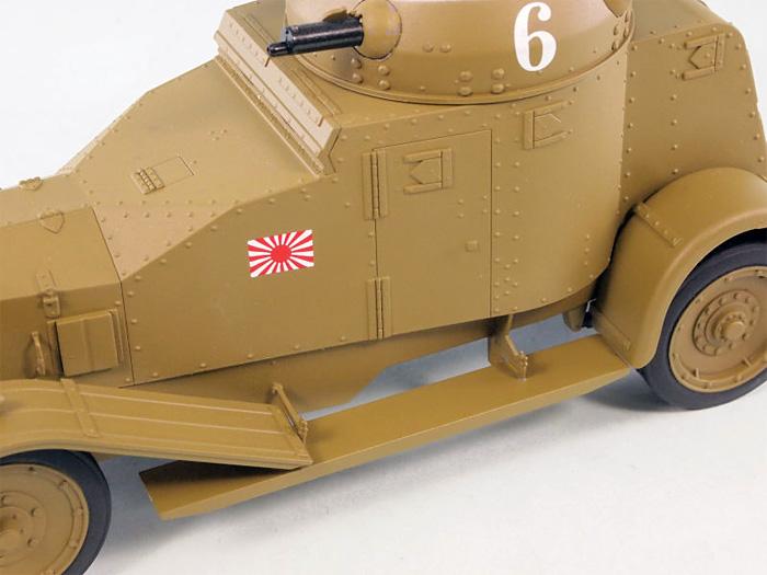 日本海軍 陸戦隊 ヴィッカース・クロスレイ M25 四輪装甲車完成品(ピットロード塗装済完成品モデルNo.G-027M)商品画像_2