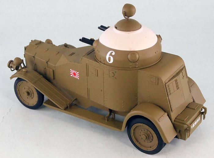 日本海軍 陸戦隊 ヴィッカース・クロスレイ M25 四輪装甲車完成品(ピットロード塗装済完成品モデルNo.G-027M)商品画像_3