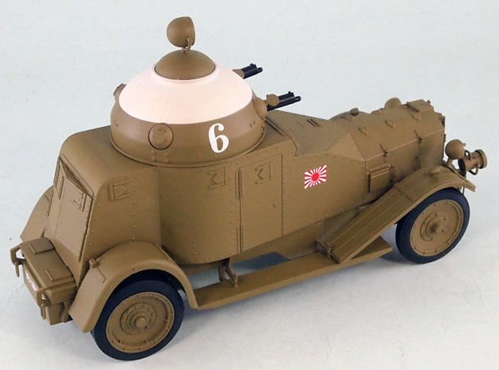 日本海軍 陸戦隊 ヴィッカース・クロスレイ M25 四輪装甲車完成品(ピットロード塗装済完成品モデルNo.G-027M)商品画像_4