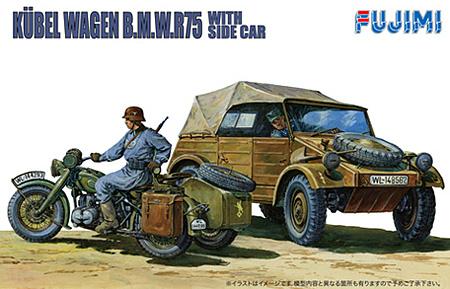 キューベルワーゲンプラモデル(フジミ1/76 ワールドアーマーシリーズNo.WA-020)商品画像