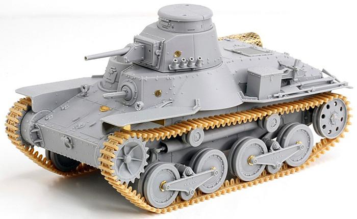 日本帝国陸軍 95式軽戦車 ハ号 北満型プラモデル(サイバーホビー1/35 AFV シリーズ ('39~'45 シリーズ)No.6777)商品画像_4