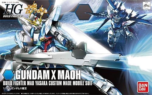 ガンダムX 魔王プラモデル(バンダイHGBF ガンダムビルドファイターズNo.003)商品画像
