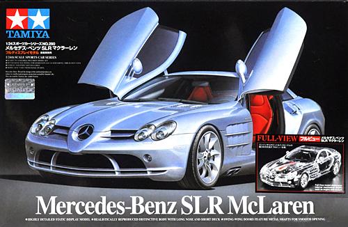 フルビュー メルセデス・ベンツ SLR マクラーレンプラモデル(タミヤ1/24 スポーツカーシリーズNo.331)商品画像