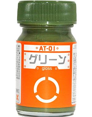 AT-01 グリーン塗料(ガイアノーツボトムズカラー シリーズNo.AT-001)商品画像