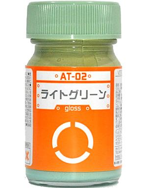 ライトグリーン (AT-02)塗料(ガイアノーツボトムズカラー シリーズNo.AT-002)商品画像