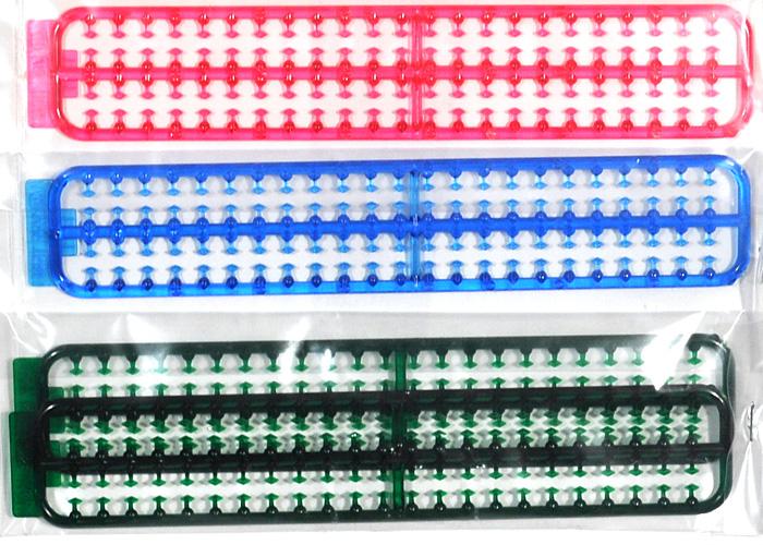 菱形マーカー セット (緑・青・ピンク)プラモデル(フジミ1/32 走る街道美学シリーズNo.029)商品画像_1