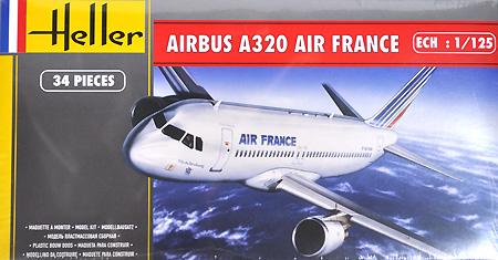 エアバス A320 エアーフランスプラモデル(エレール1/125 エアーモデルNo.80448)商品画像