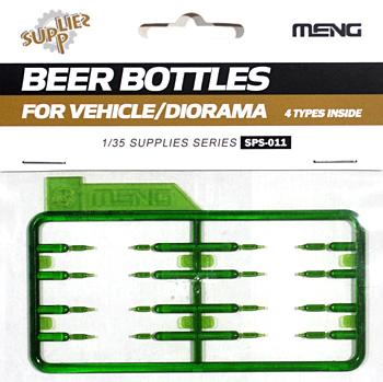 ビールボトルプラモデル(MENG-MODELサプライ シリーズNo.SPS-011)商品画像