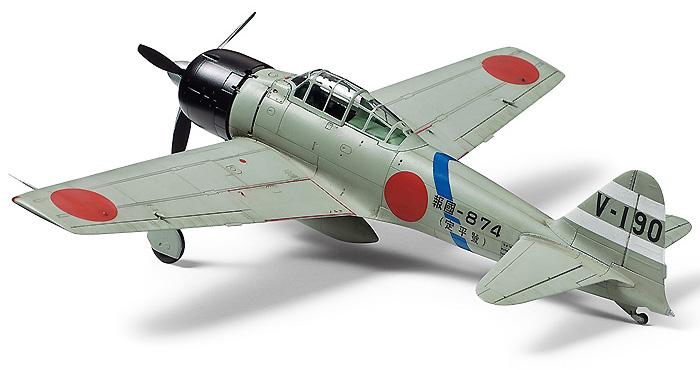 三菱 零式艦上戦闘機 三二型プラモデル(タミヤ1/72 ウォーバードコレクションNo.084)商品画像_3