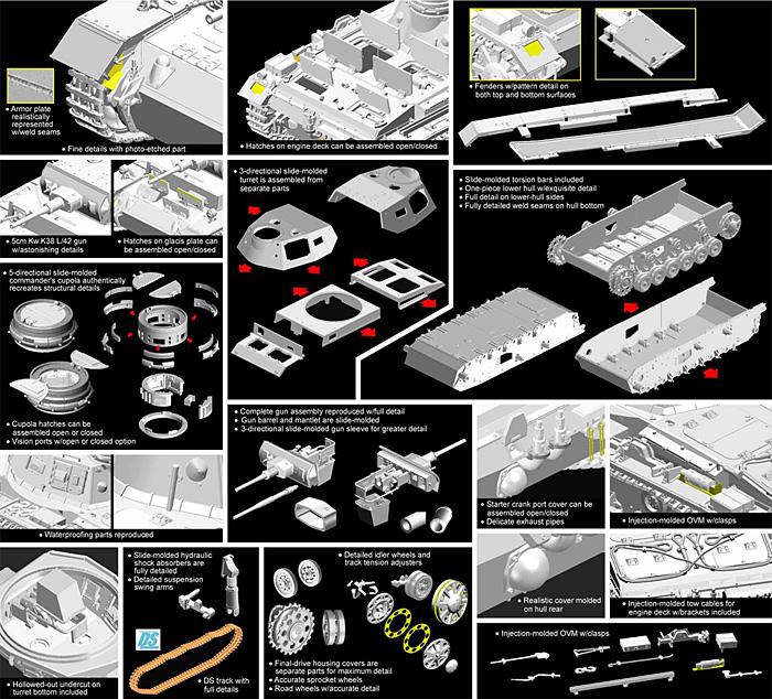 ドイツ 3号戦車G型 5cm砲搭載型 潜水戦車プラモデル(サイバーホビー1/35 AFV シリーズ ('39~'45 シリーズ)No.6773)商品画像_2