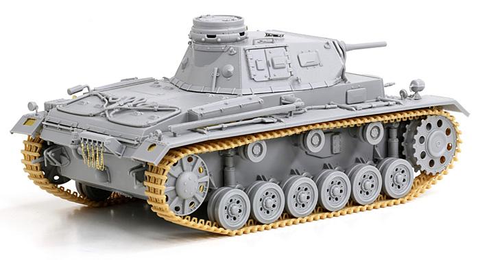 ドイツ 3号戦車G型 5cm砲搭載型 潜水戦車プラモデル(サイバーホビー1/35 AFV シリーズ ('39~'45 シリーズ)No.6773)商品画像_4