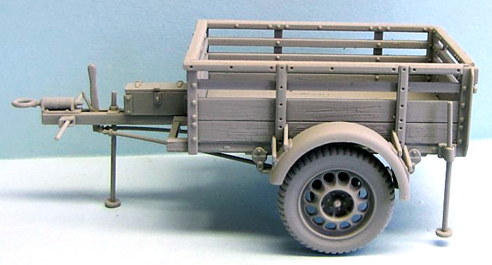 CMP 10cwt トレーラー GSプラモデル(ミラーモデルズ1/35 AFVモデルNo.35150)商品画像_3