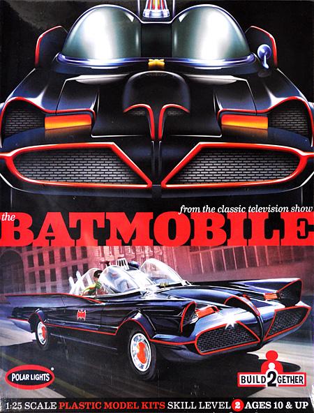 バットモービル 2キットパックプラモデル(ポーラライツBATMAN (バットマン)No.POL907/06)商品画像